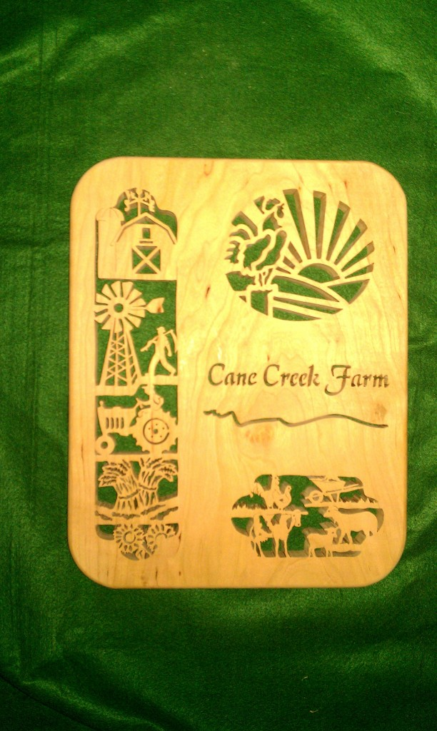 Cane Creek Farms Award