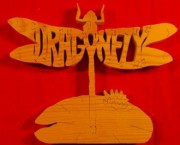 Dragon Fly - Name Puzzle