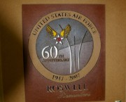 Air Force 60th Patch - Cutout