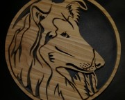 Collie Fret work Picture