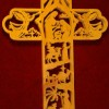 Nativity Cross - Fret work