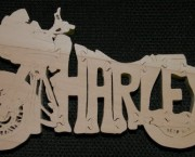 Harley Motorcycle - Name Puzzle