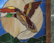 Stain Glass Duck