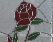 Stain Glass Rose