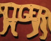 Tiger - Name Puzzle
