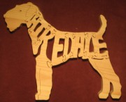 Airedale - Name Puzzle