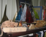 Sailboat - Stained Glass