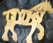 Clyesdale Horse - name Puzzle