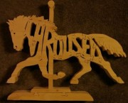 Carousel Horse - Name Puzzle