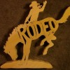 Rodeo Horse Ride - Name Puzzle