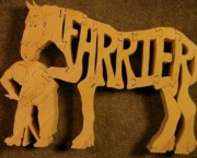 Farrier -Horse - Name puzzle