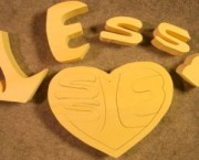 "Heart Puzzle - ""Jesus Is in my Heart"""