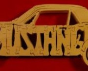 Mustang - Name Puzzle