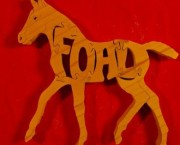 Horse - Foal - Name Puzzle