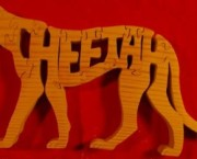 Cheetah - Name Puzzle